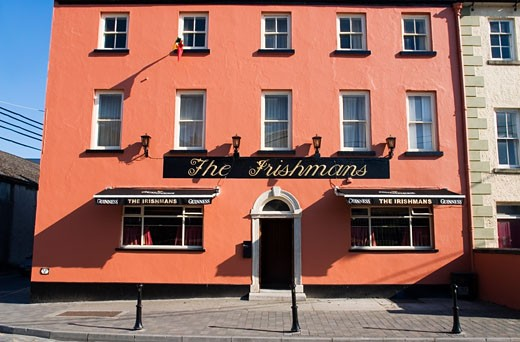 Stock Photo: 1812-1623 The Irishman's Pub, Carlow Town, Co Carlow, Ireland