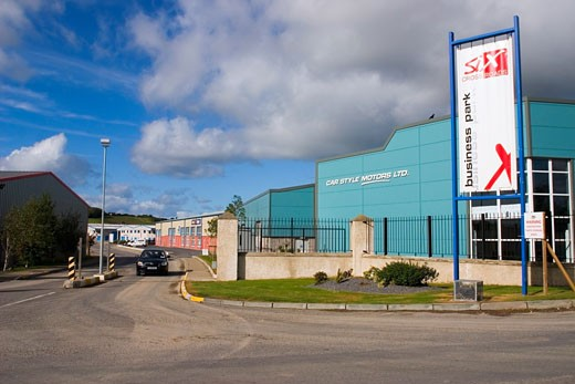 Stock Photo: 1812-1646 Industrial Estate, Waterford City, Co Waterford, Ireland