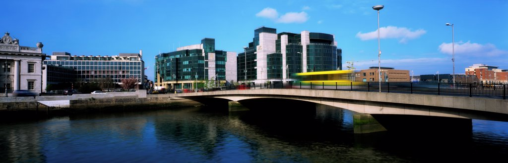 Dublin, Co Dublin, Ireland, International Financial Services Centre (Ifsc) : Stock Photo