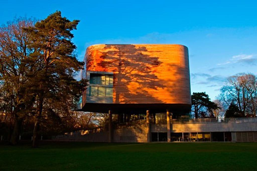 Lewis Glucksman Gallery, University College Cork, Cork City, Co Cork, Ireland : Stock Photo