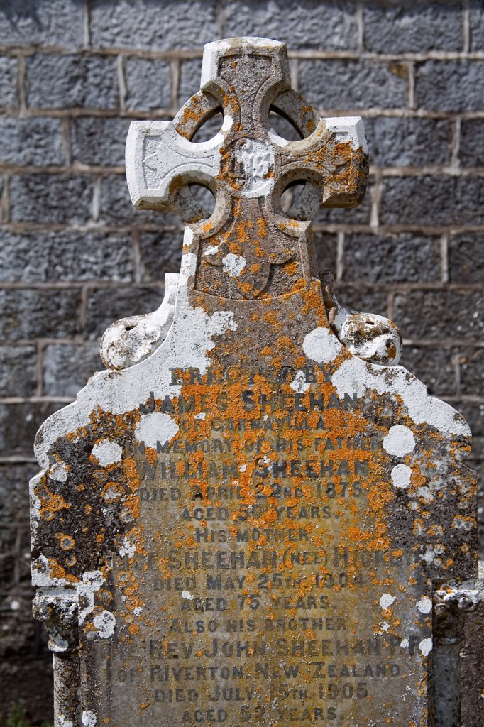 Stock Photo: 1812-17118 Clogheen, County Tipperary, Ireland; Shanrahan Graveyard