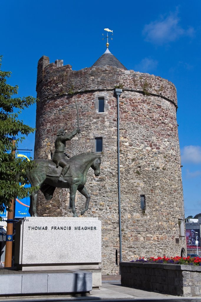 Waterford City, County Waterford, Ireland; Reginald's Tower : Stock Photo