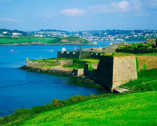 Stock Photo: 1812-1836 Co Cork, Kinsale, Charles Fort