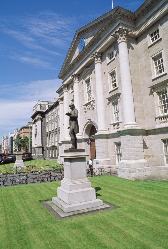 Dublin, Trinity College, : Stock Photo