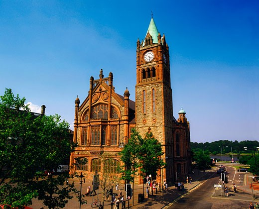 Guildhall, Derry (Londonderry) City, Ireland : Stock Photo