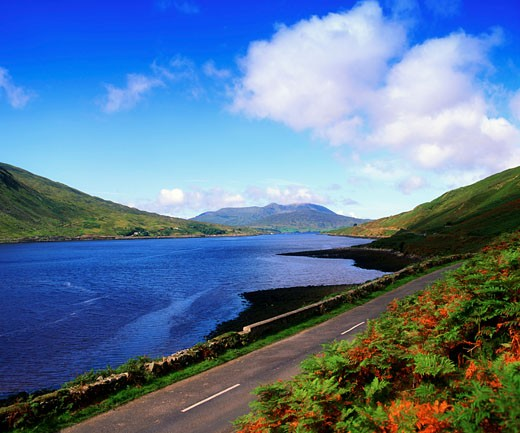 Co Galway, Killary Harbour : Stock Photo