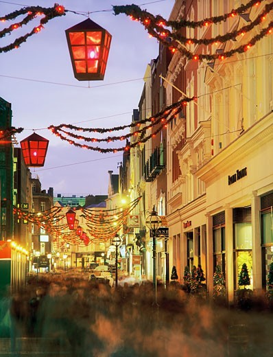 Stock Photo: 1812-2223 Grafton Street, Dublin, Co Dublin, Ireland