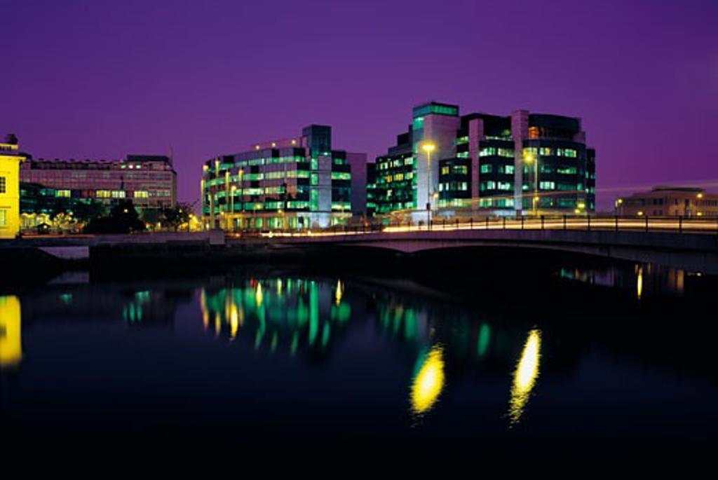 International Financial Services Centre (IFSC), Dublin, Ireland : Stock Photo