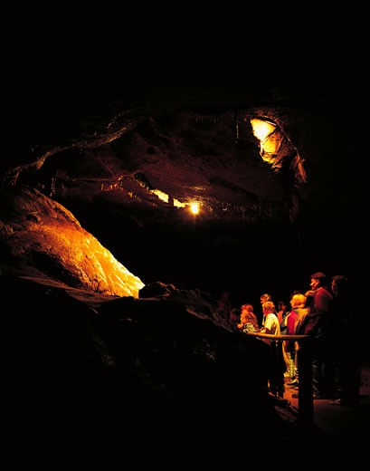 Stock Photo: 1812-2547 Marble Arch Caves, Co Fermanagh, Ireland, UNESCO Geoparks