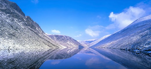 Silent Valley Reservoir, Ben Crom, Co Down, Ireland : Stock Photo