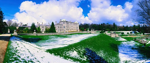Stock Photo: 1812-2868 Irish Snow Scenes, Powerscourt, Co Wicklow