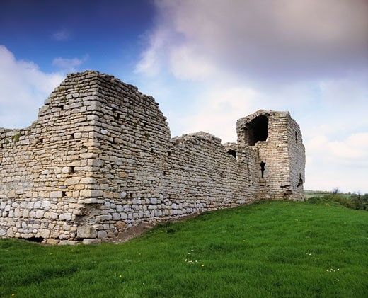 Stock Photo: 1812-3374 Co Carlow Castle Near Muire Bheag