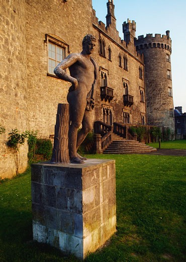 Kilkenny City, Kilkenny Castle : Stock Photo