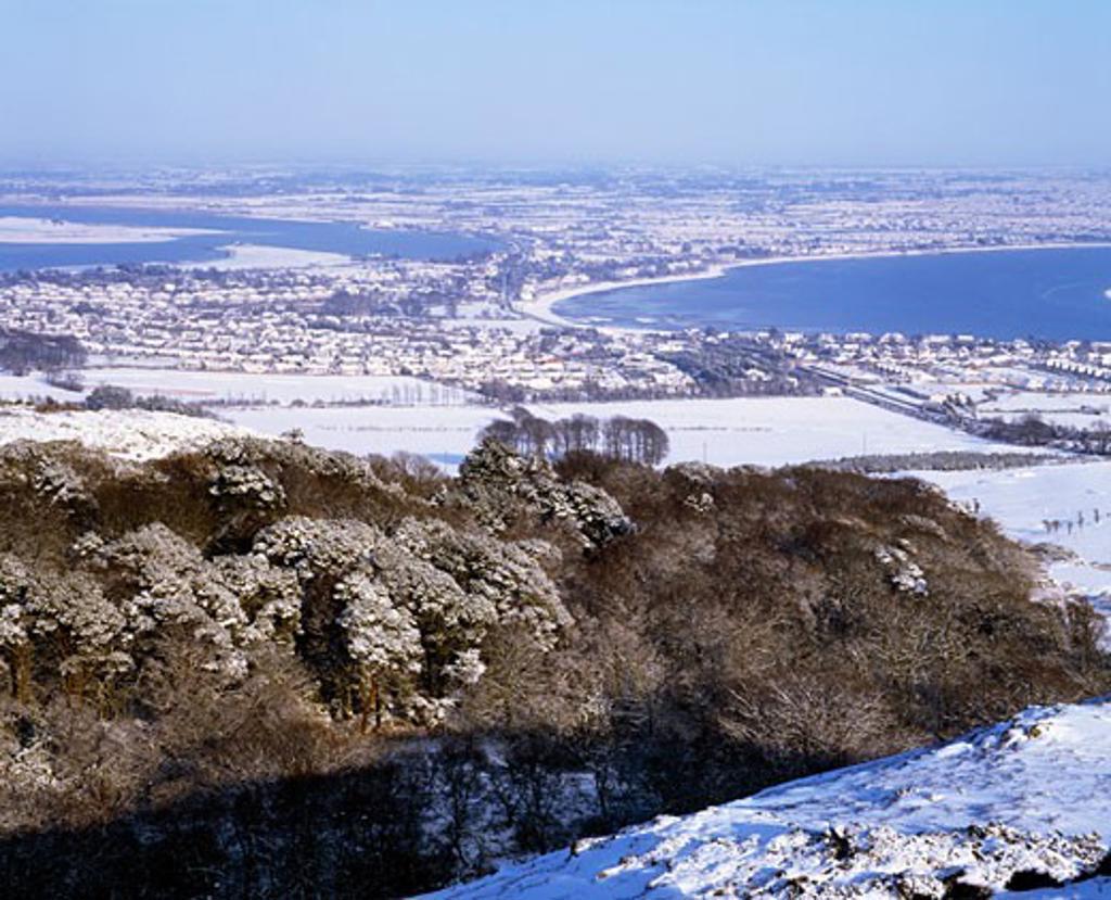 Stock Photo: 1812-3855 Irish Snow Scenes, CO Dublin, Sutton and Baldoyle