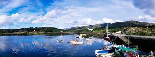 Co Cork, Ballycrovane Harbour, Near Eyeries : Stock Photo