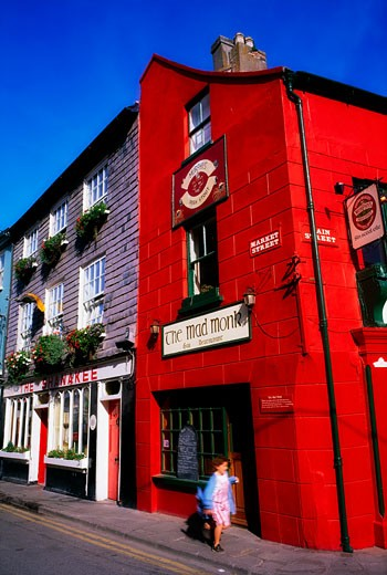 Co Cork, The Mad Monk Restaurant, Kinsale : Stock Photo