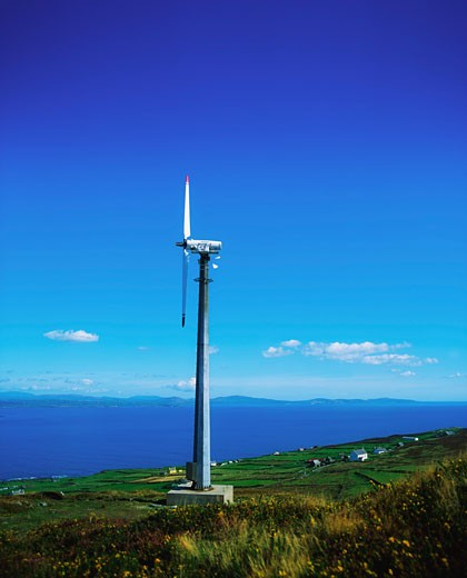 Stock Photo: 1812-4718 Wind Power, Windmill on Cape Clear Island