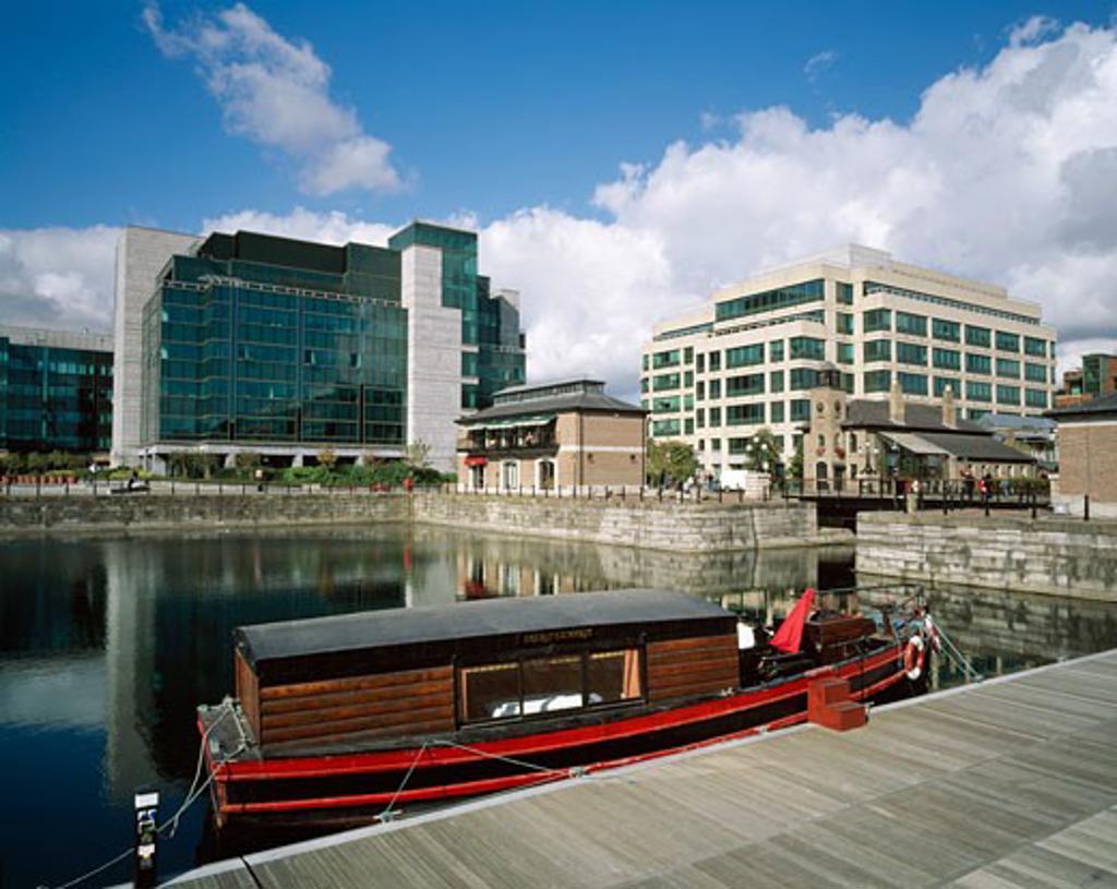 International Financial Services Centre (IFSC), Dublin City, Ireland : Stock Photo
