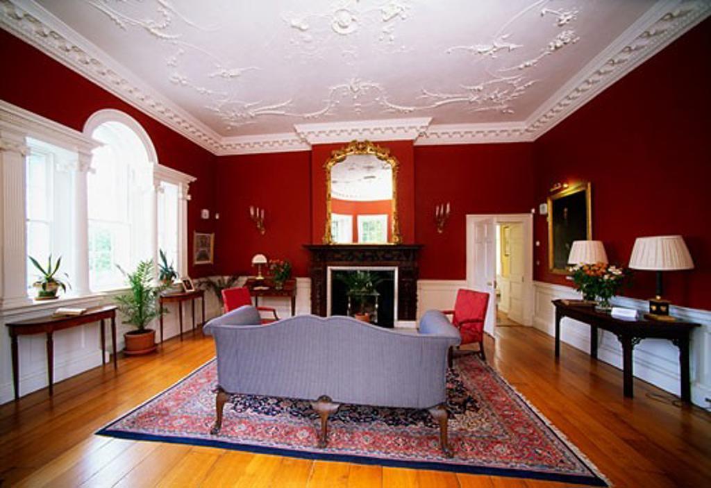 Belvedere House, near Mullingar, Co Westmeath, Ireland : Stock Photo