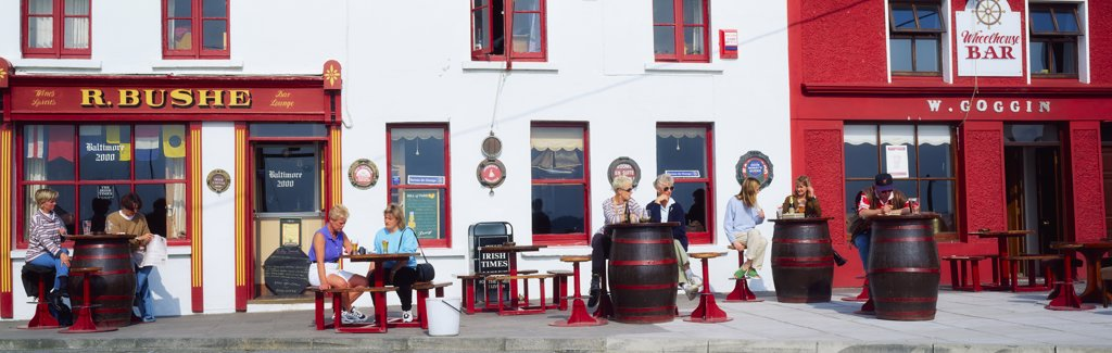 Stock Photo: 1812-5068 Traditional Pub in Baltimore, Co Cork, Ireland
