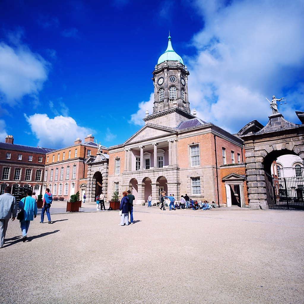 Stock Photo: 1812-5120 Dublin Castle, Dublin, Co Dublin, Ireland