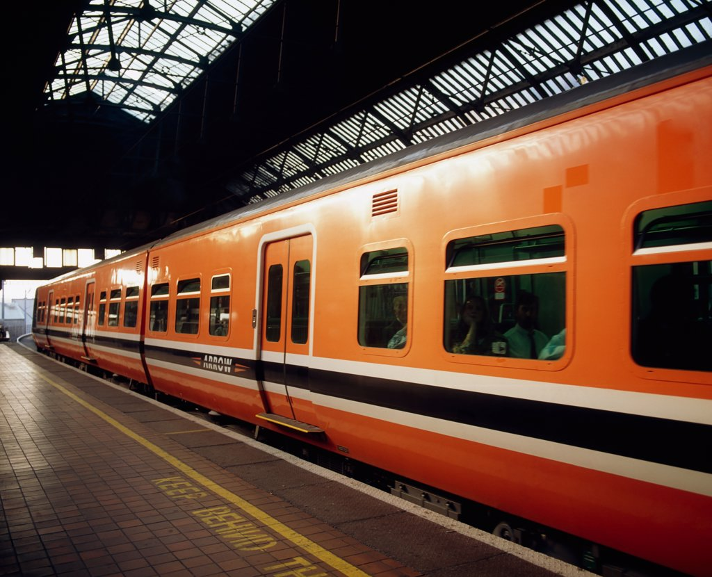 Stock Photo: 1812-5163 Dublin Pearse railway station, Dublin, Co Dublin, Ireland