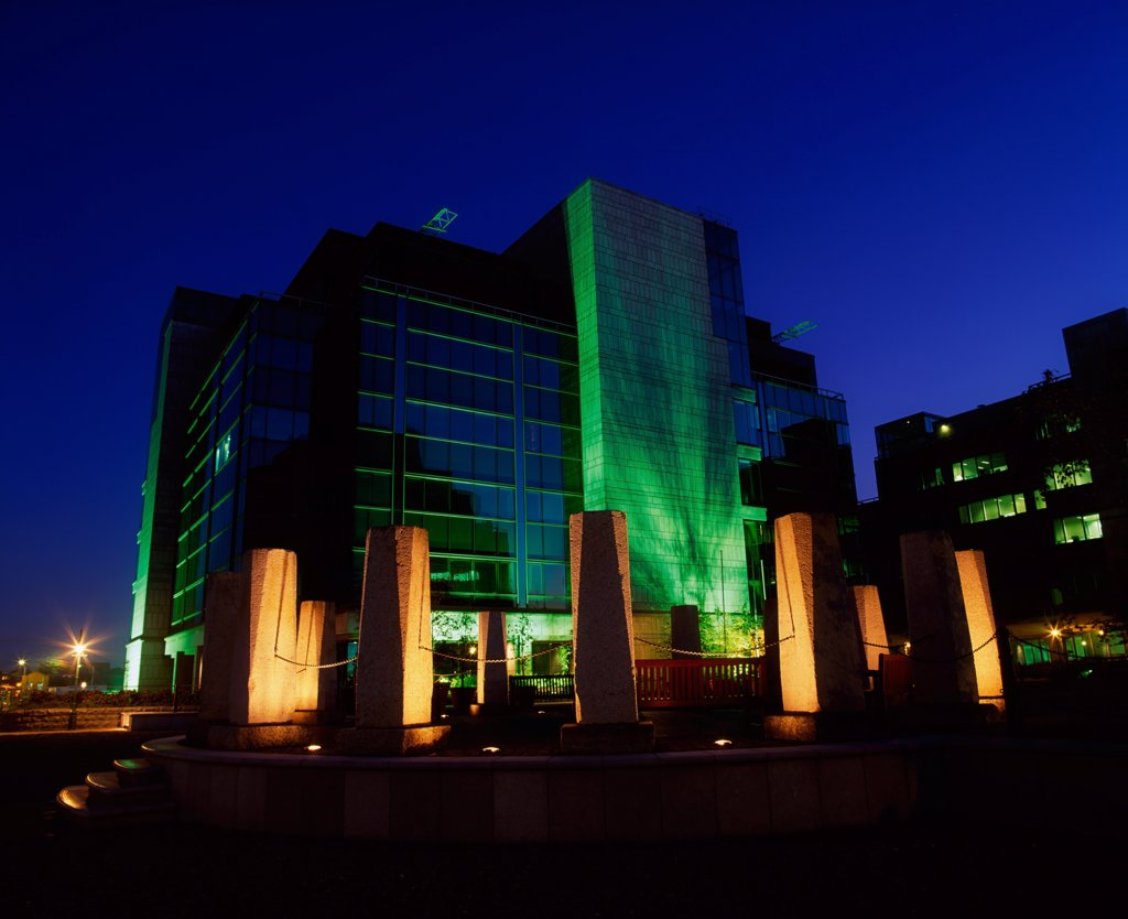 Stock Photo: 1812-5177 International Financial Services Centre (IFSC), Dublin City, Ireland