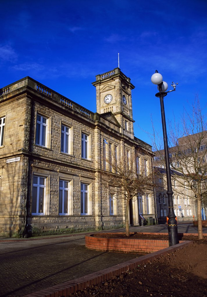 Harbour museum, Derry, Co Derry, Ireland : Stock Photo