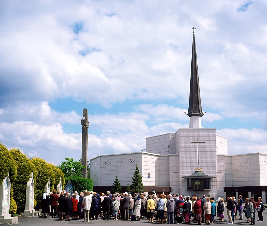 Stock Photo: 1812-5482 Our Lady of Ireland, Ireland's National Marian Shrine, Knock, Co Mayo, Ireland