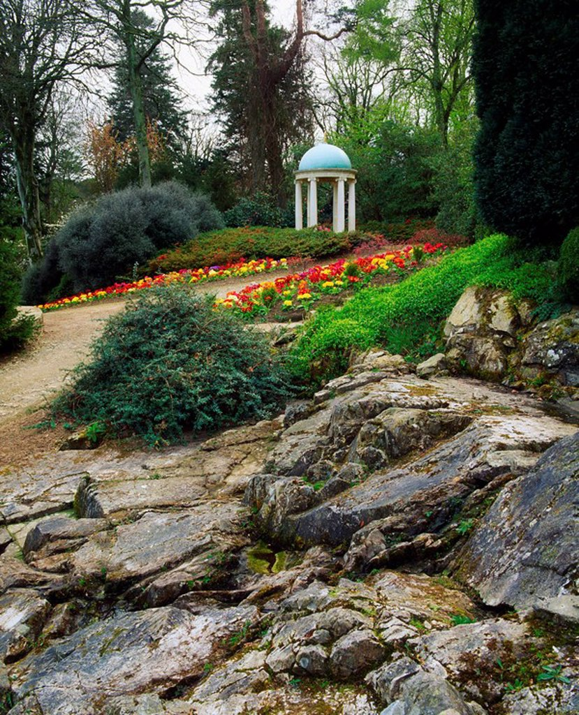 Congreve Gardens, Co Waterford, Temple : Stock Photo