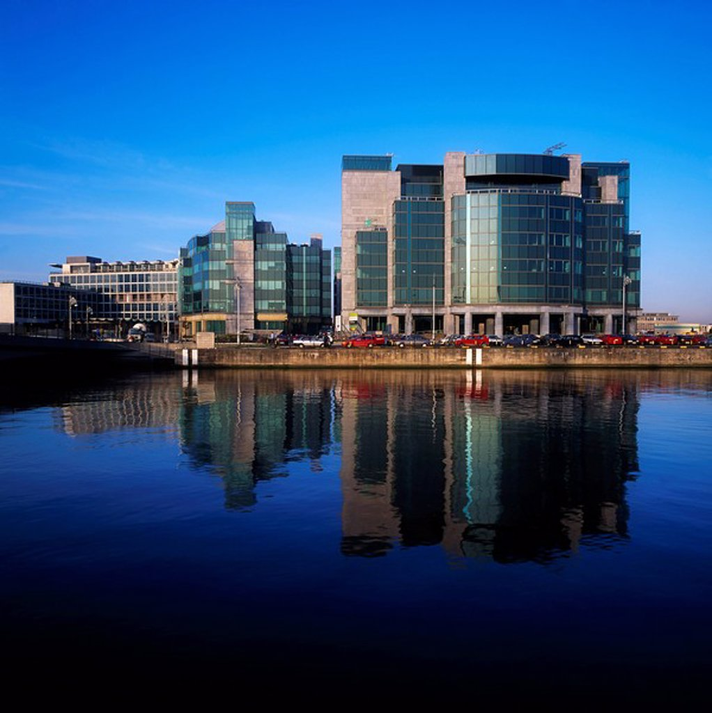 Stock Photo: 1812-6694 International Financial Services Centre IFSC, Dublin City, Ireland