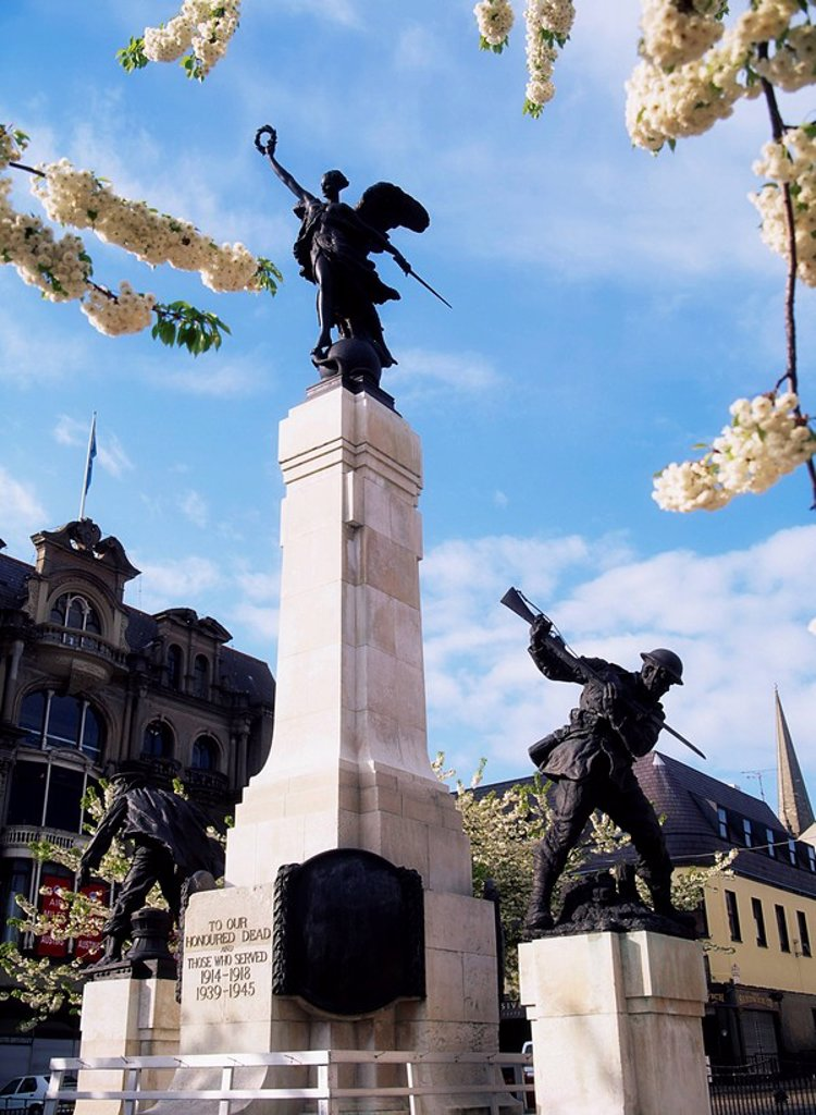 Stock Photo: 1812-6953 Derry City, The Diamond War Memorial