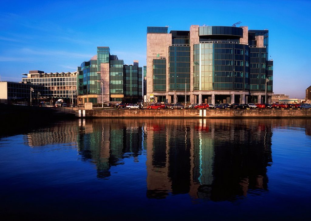 International Financial Services Centre IFSC, Dublin City, Ireland : Stock Photo