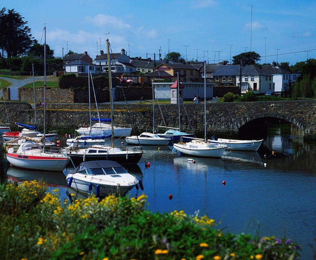 Courtown Harbour, Co Wexford, Ireland : Stock Photo