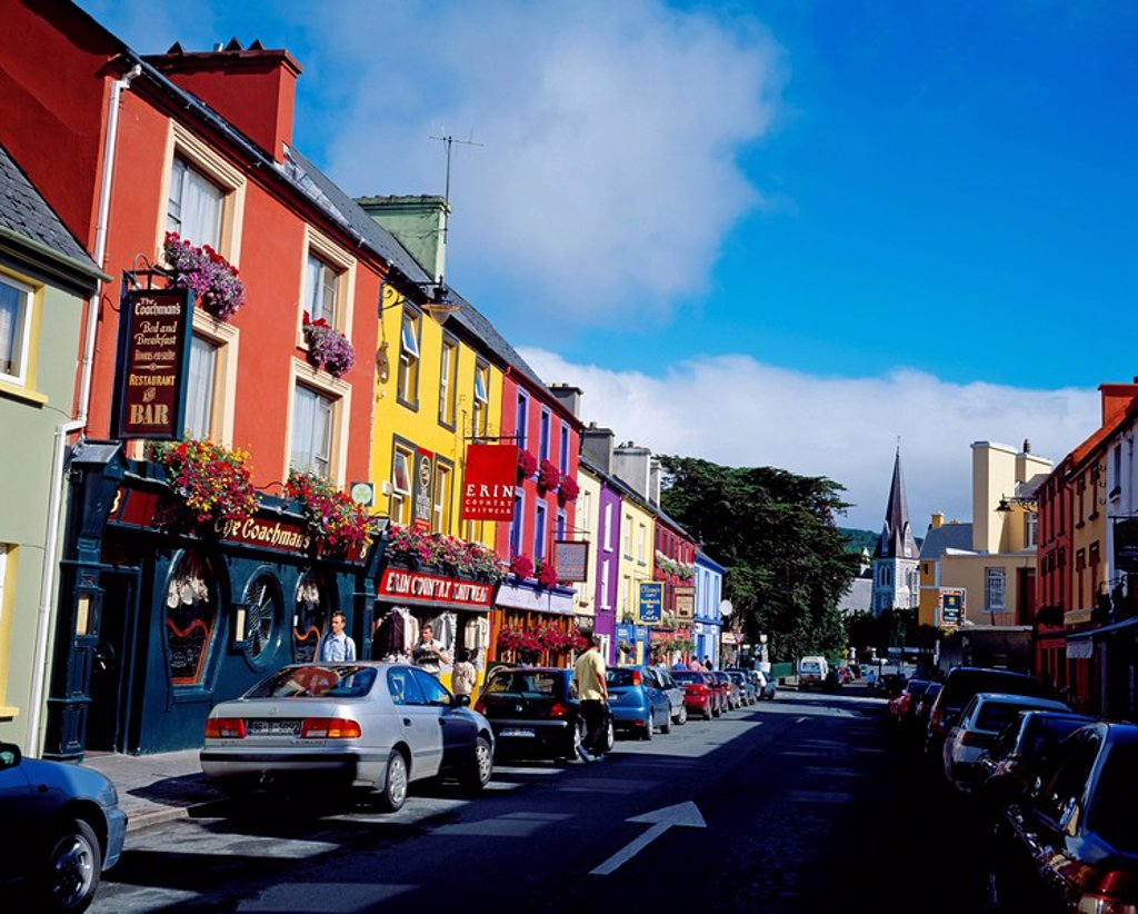 Kenmare, Co Kerry, Ireland, Irish town : Stock Photo