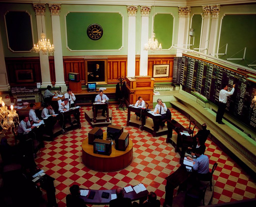 Stock Photo: 1812-8433 Dublin Stock Exchange, Ireland