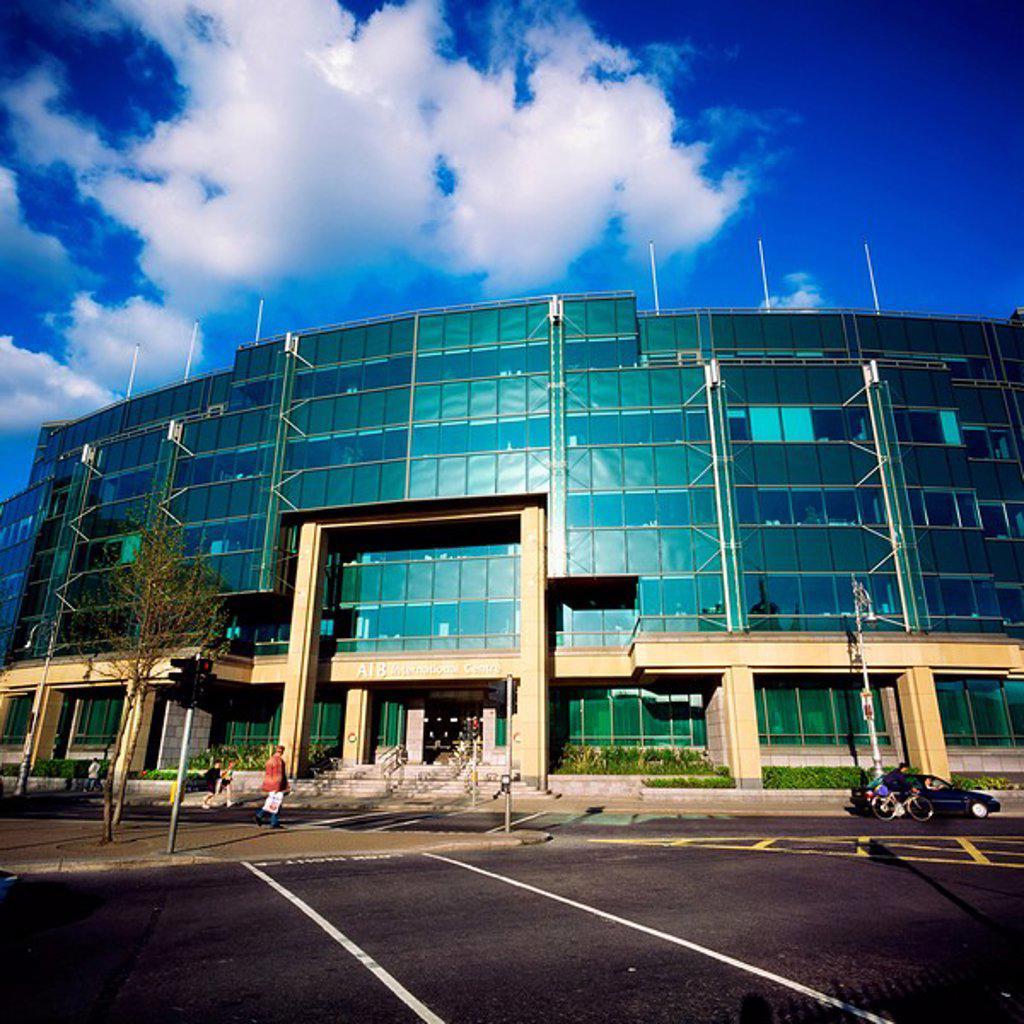 Stock Photo: 1812-8669 International Financial Services Centre IFSC, Dublin, Co Dublin, Ireland