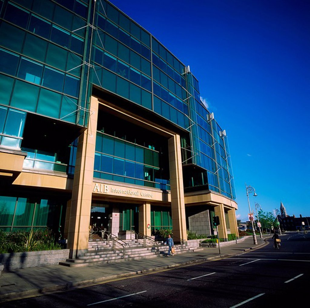 Stock Photo: 1812-8670 International Financial Services Centre IFSC, Dublin, Co Dublin, Ireland