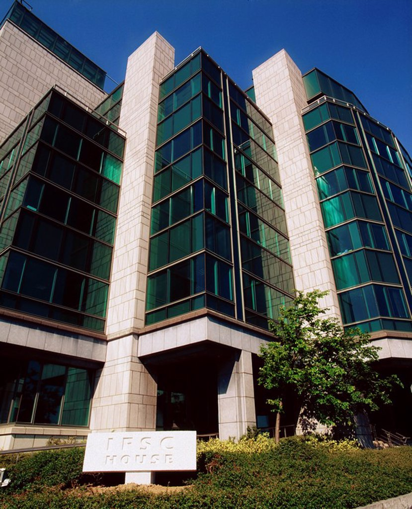 Stock Photo: 1812-8771 International Financial Services Centre IFSC, Dublin, Co Dublin, Ireland