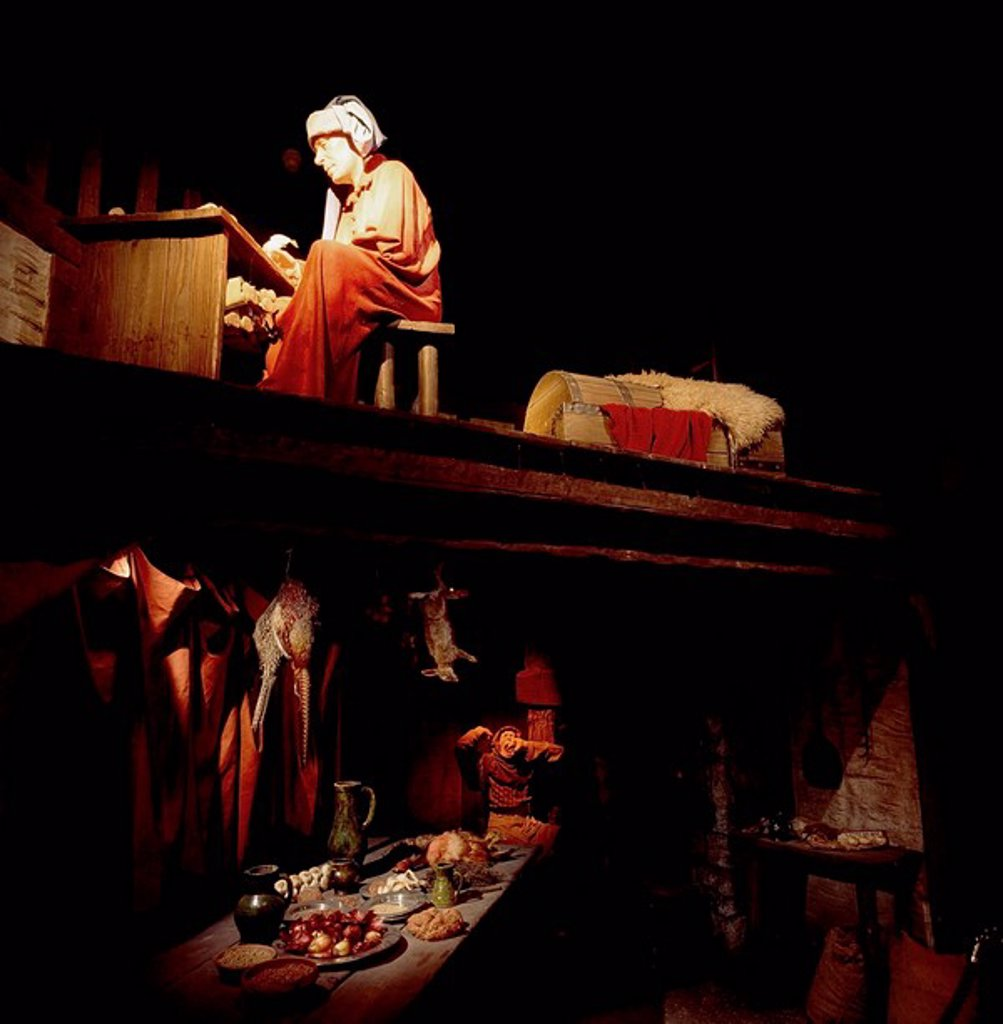 Stock Photo: 1812-8805 Medieval Kitchen, Christ Church, Dublin, Co Dublin, Ireland