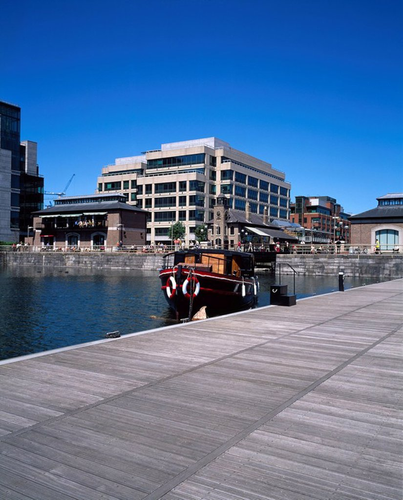Stock Photo: 1812-9772 Dublin Docklands, International Financial Services Centre, Dublin City, County Dublin, Ireland