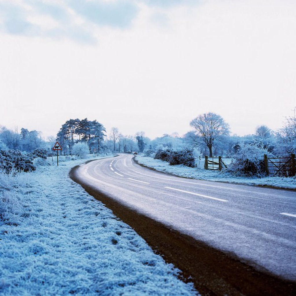 Stock Photo: 1812R-13170 Roadway in Ireland