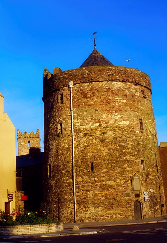 Waterford City, Reginald´s Tower, Ireland : Stock Photo