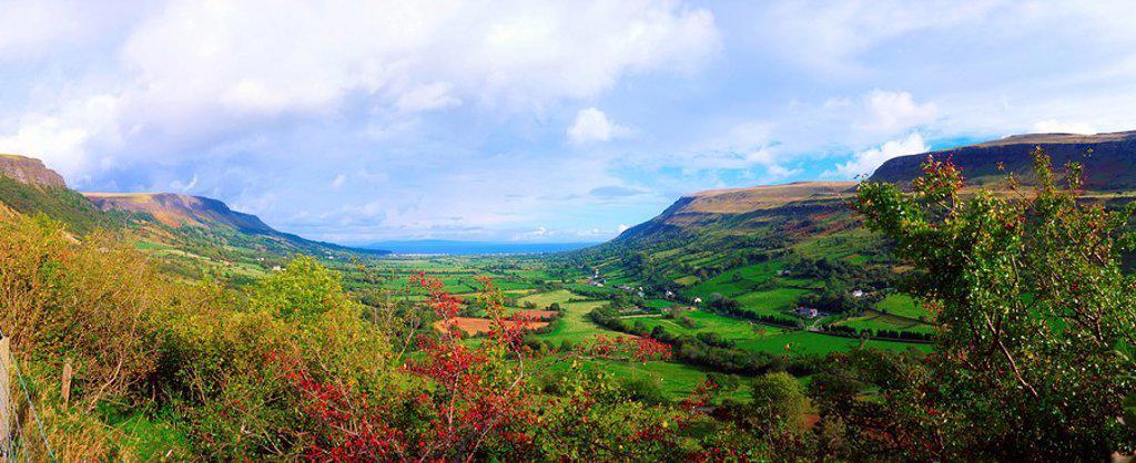 Stock Photo: 1812R-13823 Co Antrim, Glenariff, Ireland
