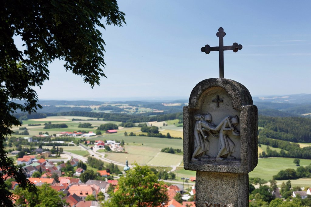 Stock Photo: 1815-105520 Germany, Bavaria, View of calvary
