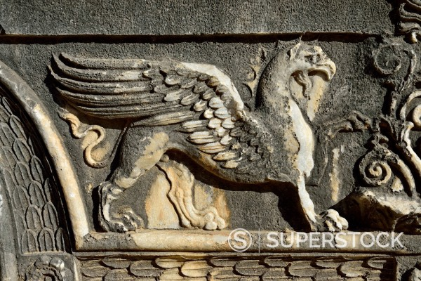 Stock Photo: 1815-136463 Turkey, Marble decoration on Apollon temple
