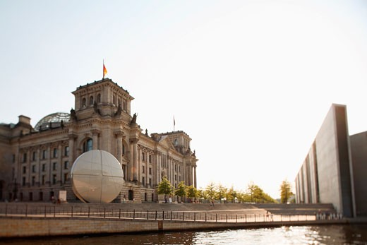 Stock Photo: 1815-40156 Germany, Berlin, Reichstags-Building