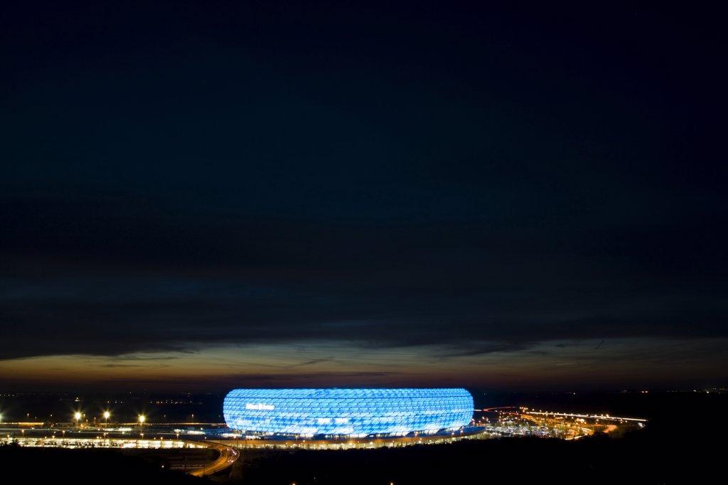 Stock Photo: 1815-41003 Germany, Bavaria, Munich, Allianz Arena