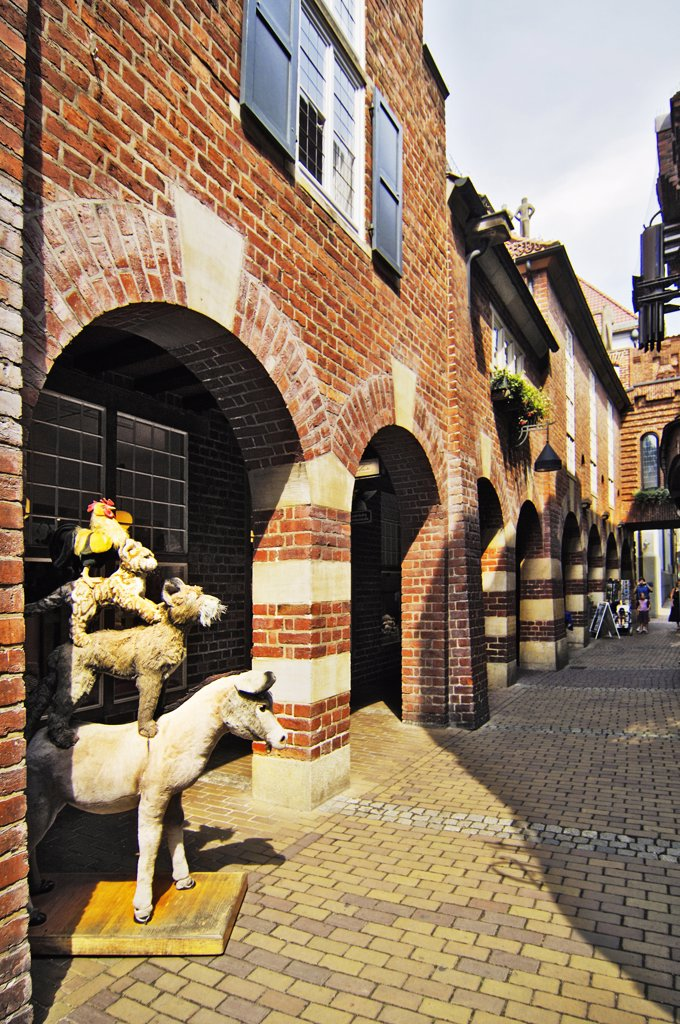 Germany, Bremen, old town : Stock Photo
