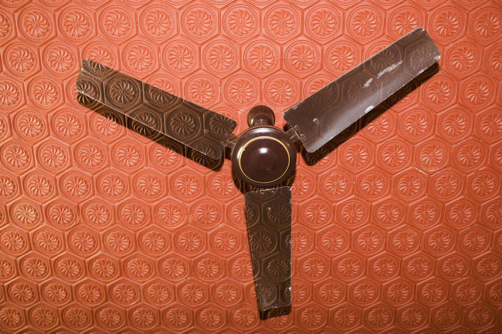 India, ventilator in hotel room : Stock Photo